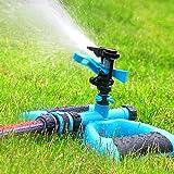 Water Sprinkler, Macoku Sprinkler Irrigation Water System Design Impulse Long Range for Garden and Lawn