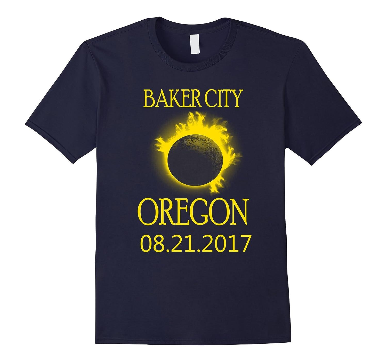 Baker City Oregon OR Total Solar Eclipse August Tee-Art