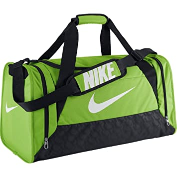 Nike Brasilia 6 Duffel Small – Unisex Bag, unisex-adult, green, Extra f35dbedebd