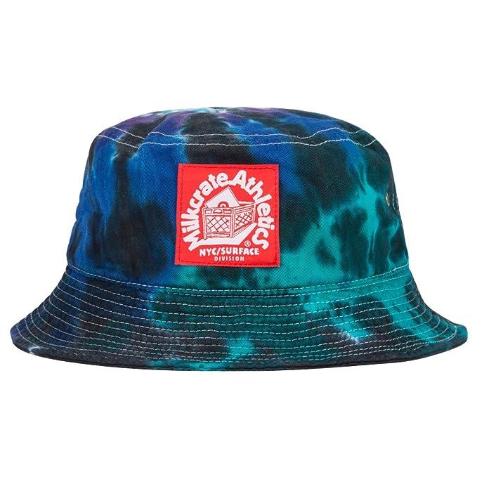 a758d472b MILKCRATE ATHLETICS Tie Dye Mens Bucket Hat, Purple: Amazon.ca ...