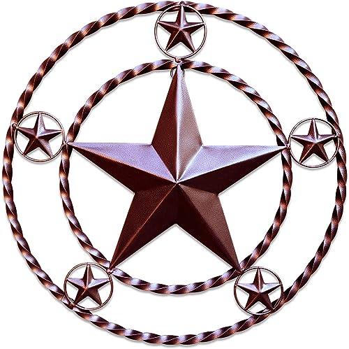 Metal Wall Star Home D cor