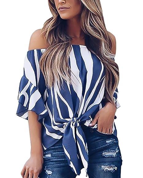 Blusas de moda casuales 2018