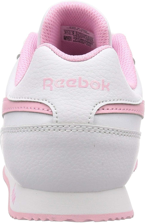 Reebok Royal Cljog 3.0, Scarpe Running Bambina Bianco Rossua Bianco
