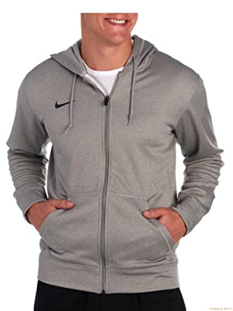 399bb5465 Image Unavailable. Image not available for. Color: Nike Therma-Fit KO Grey  Men's Full Zip Hoodie ...