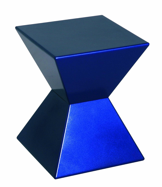 HAKU HAKU HAKU Möbel 87900 Beistelltisch 35 x 35 x 43 cm, blau 400455