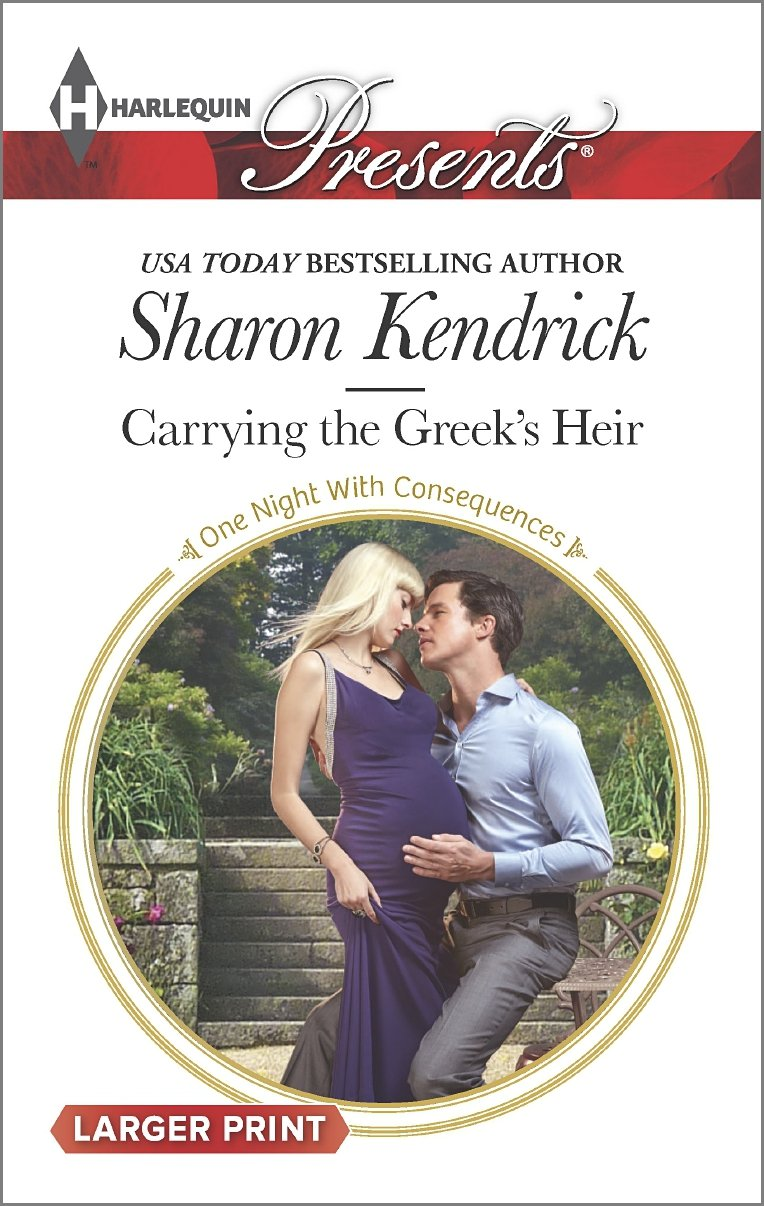 Carrying the Greek's Heir   (Harlequin Presents, No 3325) (Larger Print), Kendrick, Sharon