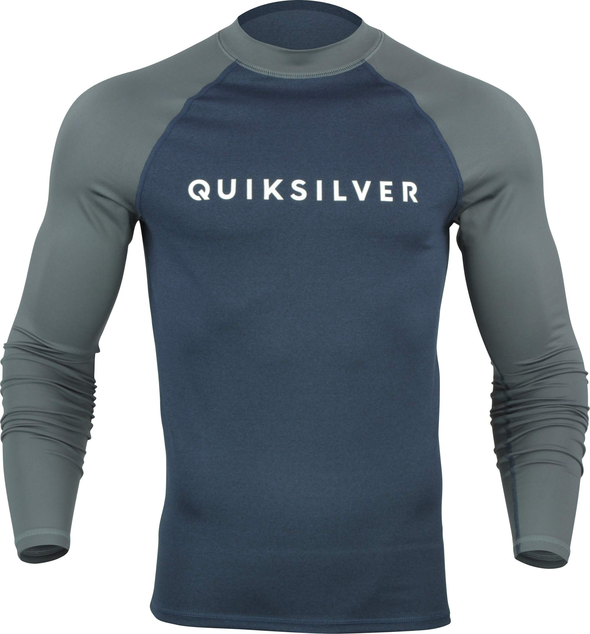 Quiksilver Always There Long Sleeve Rashguard Moonlit Ocean Heather MD by Quiksilver