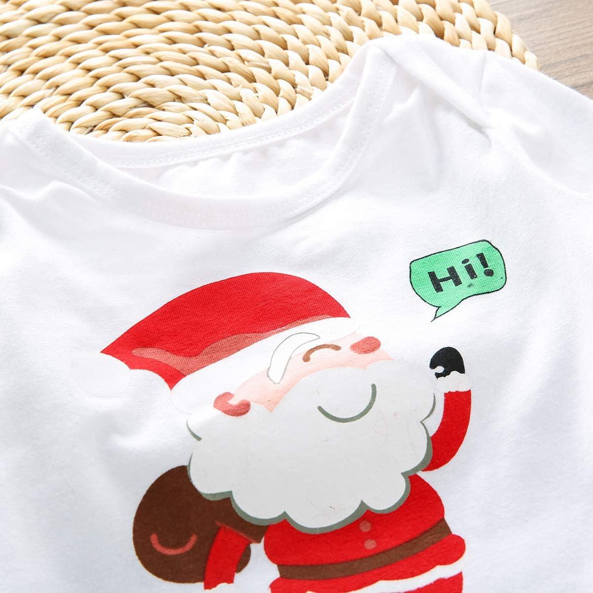 3Pcs Skirt Set Infant Baby Girls Outfits Long Sleeve Romper Top Plaid Dress Headband Clothes