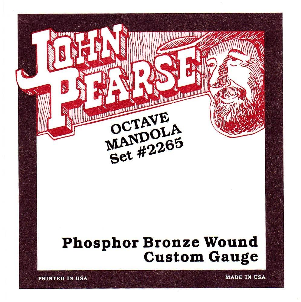 John Pearse GR32087 Corde per Mandola Ottava Media