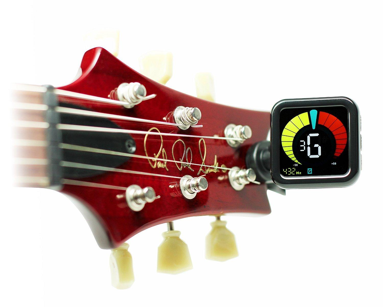 Kliq ubertuner - Sintonizador de clip para todos los instrumentos - con Guitarra, Bajo, Violín, Ukelele y modos de afinación cromática: Amazon.es: ...