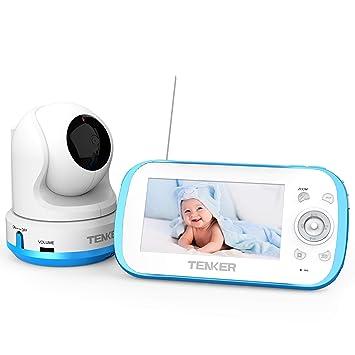 Amazon.com: Tenker - Monitor de vídeo para bebé con cámara y ...