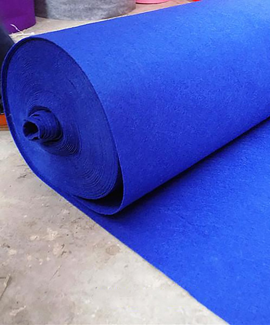 Non-tiss/és 1,8 mm d/épaisseur 8 Tailles Facultatif Bleu gemme QiangDa Tapis Mariage Passage D/église jetable Taille : 1m*10m