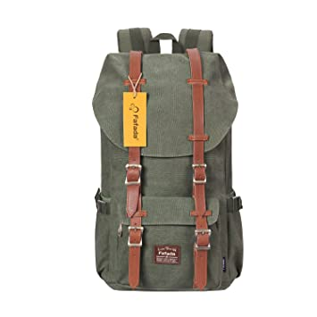 Fafada Business Laptop Backpack Casual Backpack Waterproof School Bag  Outdoor Travel Rucksack Army Green  Amazon.co.uk  Luggage 0a9c21c55b