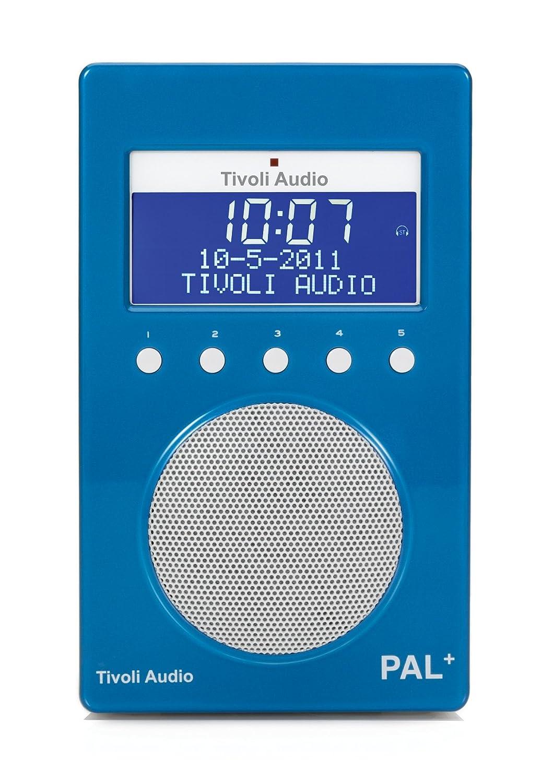 Tivoli Audio PAL+ DAB/DAB+ Portable Radio - Blue: Amazon.co.uk: TV