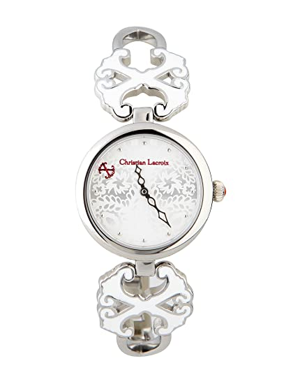 Christian Lacroix - ver - mujer - Christian Lacroix ver mujer 8005702 plata - TU: Amazon.es: Relojes