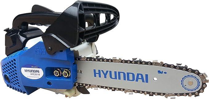 Hyundai HY-HYC2510 Cilindrada 25,4 cm3 Espada 25 cm Peso 3,8 Kg
