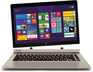"Toshiba P35W-B3226 Click 2 Pro 13.3"" FHD Touch 2-In-1 Ultrabook Laptop Intel i7-4510U 8GB Memory 128GB Solid State Drive Satin Gold"