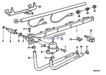 amazon com bmw genuine engine wiring harness fuel injection plug bmw genuine engine wiring harness fuel injection plug board injection valve 325e 325i 325ix 525i