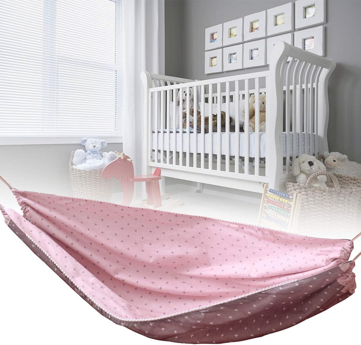 Gojiny Schaukeln f/ür Neugeborene Babybett H/ängematte Tragbare Baumwolle Baby H/ängen Schlaf Stubenwagen H/ängen Schaukel Liegen