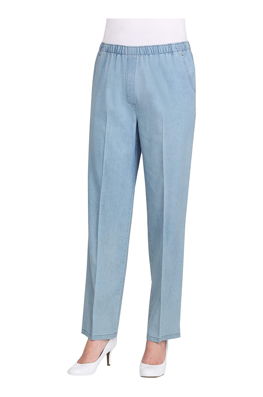 Pull-On Faux Fly Pant