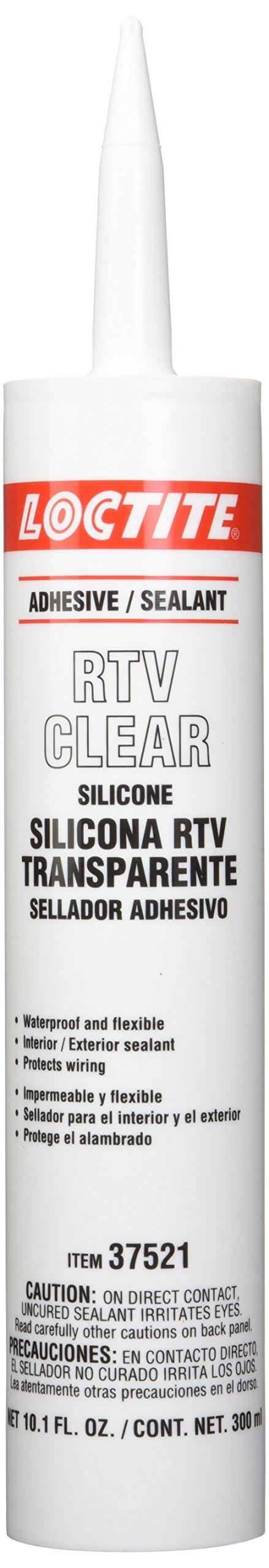 Loctite 37521 Silicone Adhesive/Sealant, 300 ml