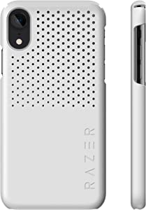 Razer Arctech Slim for iPhone XR Case: Thermaphene & Venting Performance Cooling - Wireless Charging Compatible - Mercury White