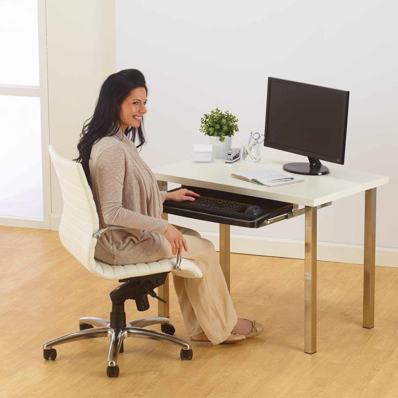 Kensington Under-desk Comfort Keyboard Drawer with SmartFit System (K60004US) by Kensington (Image #4)