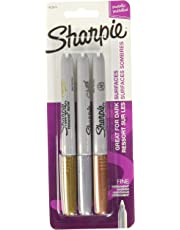 Sharpie Metallic Fine Point Permanent Markers, 3, Colored-1823815