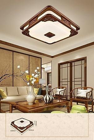 Dengju Led Moderne Chinesische Acryl Quadratische Decken Decke