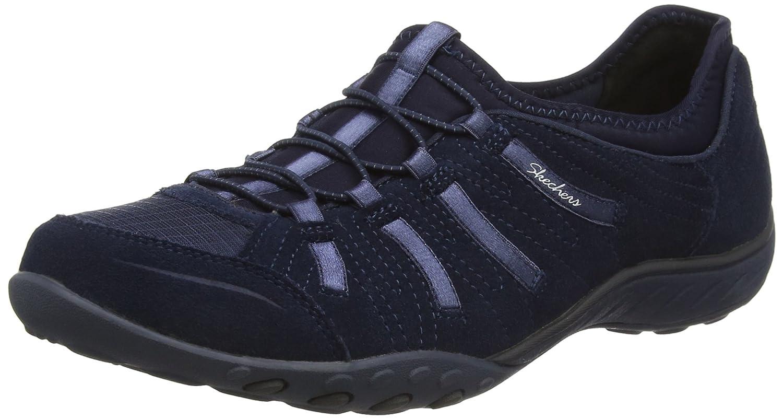 Skechers Damen Active Breathe-Easy Big Bucks Sneaker  39.5 EU|Blau (Nvy)