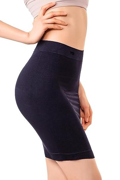 MD Falda para Mujer, Shapewear para el Control de Barriga, Vestido ...