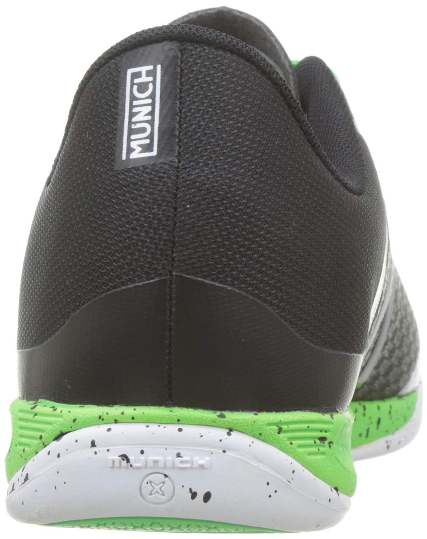 Munich One Indoor, Zapatillas de Deporte Unisex Adulto, Negro (Negro 18), 44 EU: Amazon.es: Zapatos y complementos