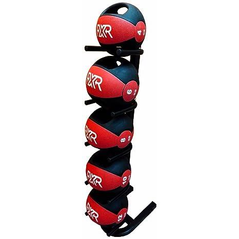 Deportes FXR pequeño balón medicinal Rack w/40 kg doble asa balón ...