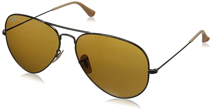 Ray-Ban Aviator RB 3025, Gafas de Sol Unisex, Dorado (Antique Gold