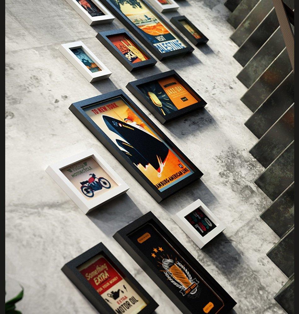 Unbekannt 15 Multi Bilderrahmen Set Vintage Industrial Style Kreative Kreative Kreative Home Wand Anhänger Bilderrahmen Hintergrund Wand Foto Wand @The Harvest Season (Farbe   B) d97cea