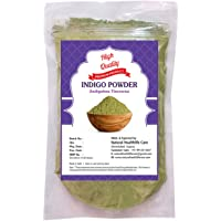 Natural Healthlife Care Indigo Powder For Hair & Beard Dye - Black (227 gm) 100% Pure Natural