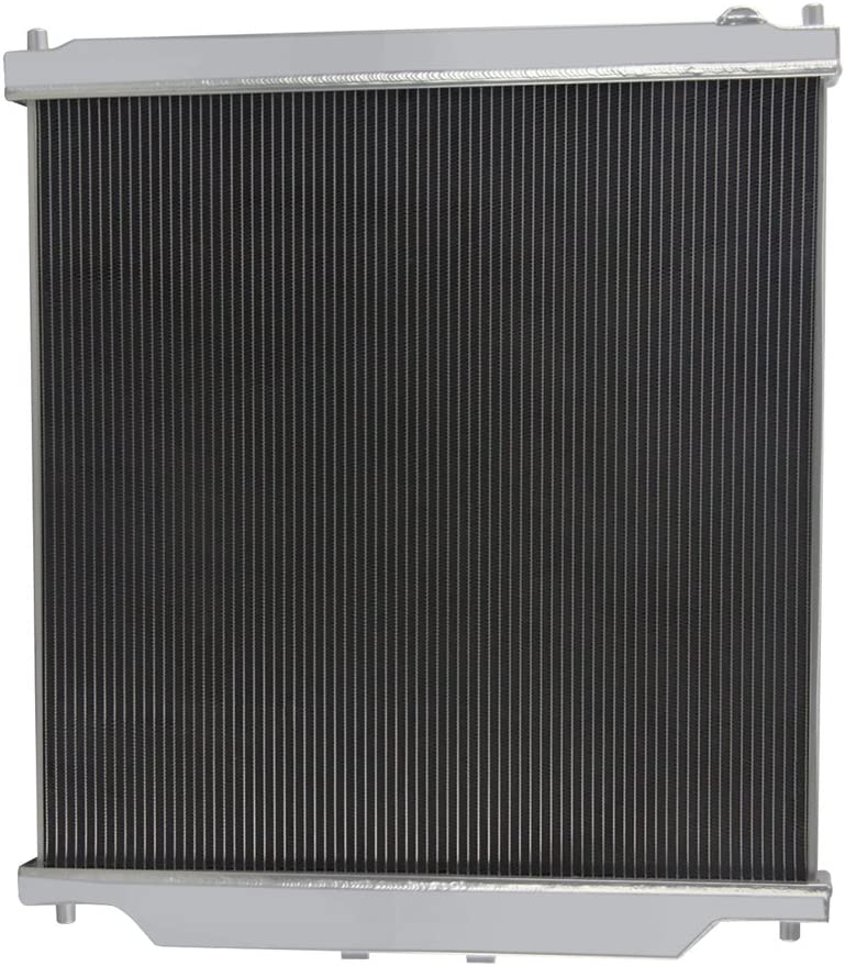 OzCoolingParts 03-07 Ford F-Series Radiator Full Aluminum Radiator for 2003-2007 2004 2005 2006 Ford F-250 F-350 F-450 F-550 F53 Super Duty V8 6.0L Turbo Diesel Powerstroke