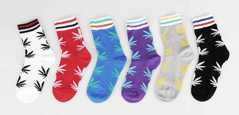 Womens Multi-Pattern Fashion Cotton Ankle Socks