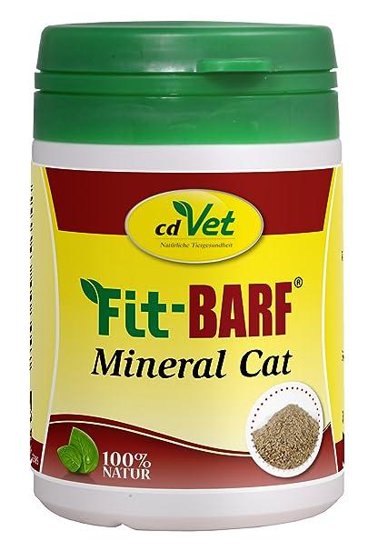 cdvet Naturprodukte Fit de barf Mineral Cat 60 g: Amazon.es: Productos para mascotas