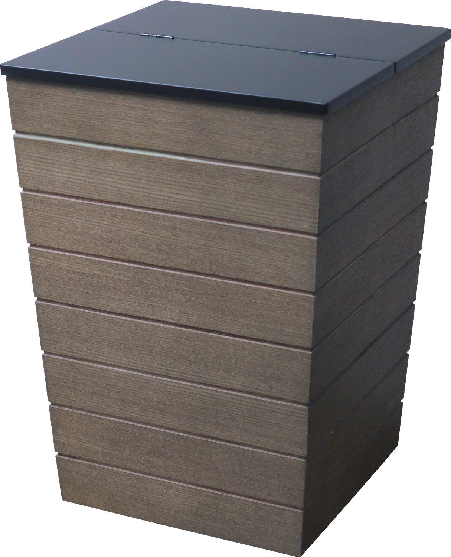 イノセント ゴミ箱 ウッドダストボックス ブラウン ISL004-BR B073VKJB3L