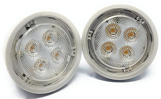 Osram - Pack de 2 bombillas LED regulables para paraídas GU10, luz blanca cálida,