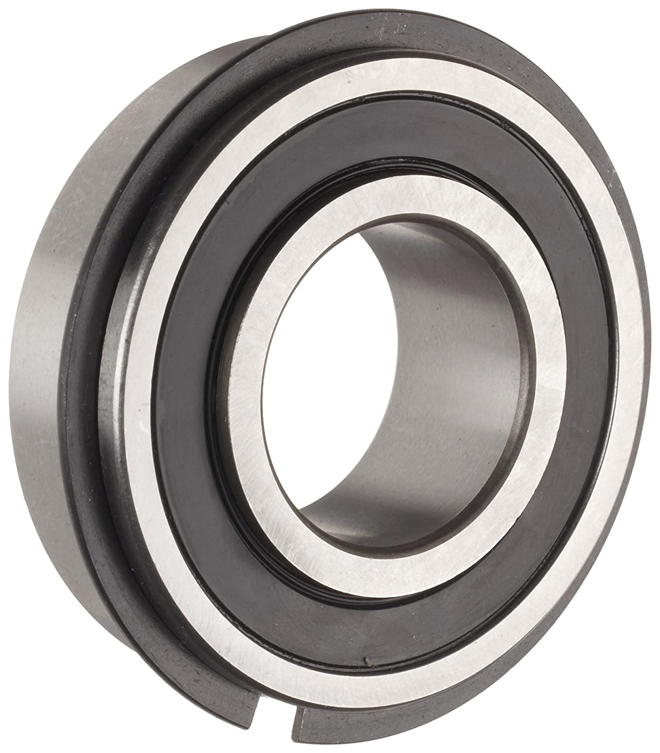 The General 7508 DLG Extra Light Extended Inner Ring Bearing, Double Sealed, With Snap Ring, Inch, 0.5' Bore, 1.75' OD, 3/4' Width, 707 lbs Static Load Capacity, 1366 lbs Dynamic Load Capacity 0.5 Bore 1.75 OD 3/4 Width