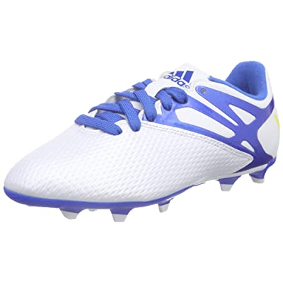 adidas Messi 15.3 FG/AG White Junior Soccer Cleats