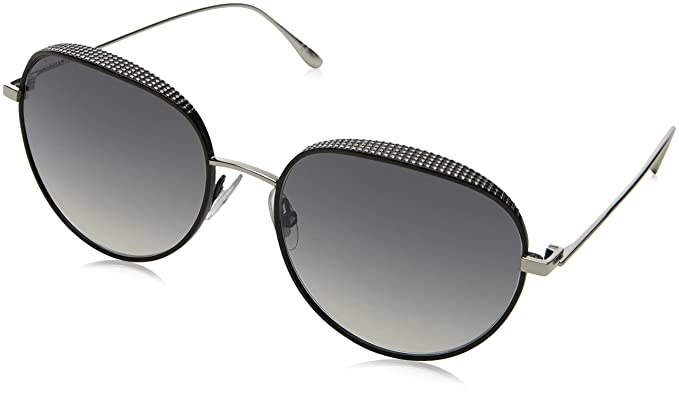 db084b70051 Jimmy Choo ELLO S JINIC (Silver - Black with Grey Gradient lenses)