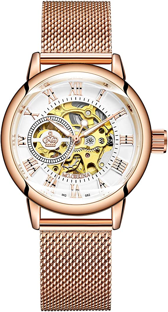 Reloj de Pulsera Esqueleto para Montar en Moto, de Cuarzo