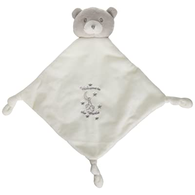 "Baby GUND x Little Me Welcom to the World Lovey Stuffed Animal Plush Blanket, White, 12"": Toys & Games"