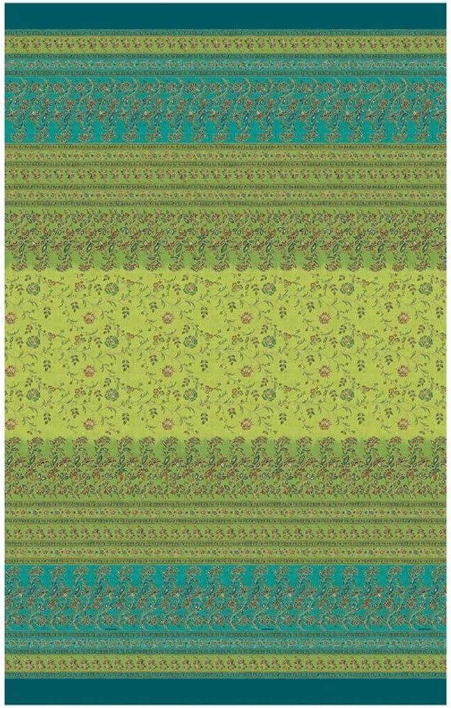 Bassetti Montefano - Foulard (algodón, 350 x 270 cm), Color Verde ...
