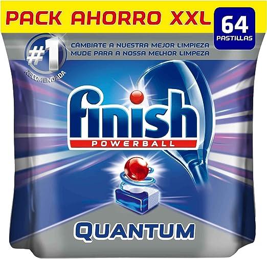 Finish Quantum Regular Pastillas Lavavajillas - 64 pastillas ...