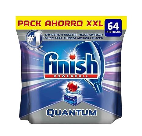Finish Quantum Regular Pastillas Lavavajillas - 64 pastillas