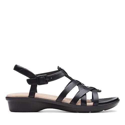 Zapatos de Cordones para Mujer, Color Negro, Marca CLARKS